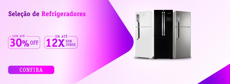 Seleção de Refrigeradores com até 30off